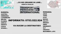 Transport international de persoane